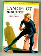 "B.V. - Lieutenant X - ""Langelot Agent Secret"" - 1969 - Bibliothèque Verte"