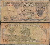 BAHRAIN - 100 Fils 1964 P# 1 Asia Banknote - Edelweiss Coins - Bahrain