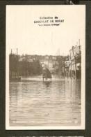 CP-BOULOGNE-sur-SEINE - Inondation 1910 - Avenue De La REINE - France