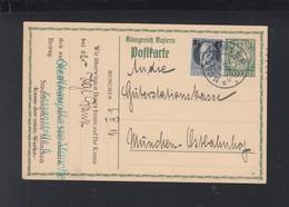 Bayern GSK Mit ZuF Stadthauptkasse München 1916 - Bayern