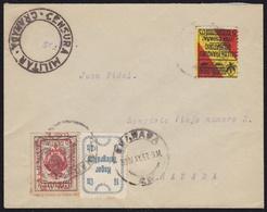 GUERRA CIVIL. 1937. GRANADA. CORREO INTERIOR. MUY INTERESANTE. - 1931-50 Lettres