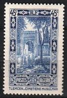 Année 1936-N°111 Neuf**MNH : Cimetière Musulman à Tlemcen - Algeria (1924-1962)