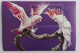 Zambia 1998** Bl.42. Parrots MNH [12;87] - Birds