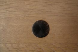 Watches PARTS : DIAL ZODIAC HERMETIC CUSTOM * - Color : Dark Gray - Original Vintage - Genuine Parts - Swiss Made - Jewels & Clocks