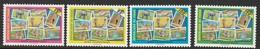 TCHAD -  N° 553 E/H  ** (1993) Faunes Des Parcs Nationaux - Chad (1960-...)