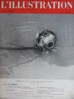 Revue L'Illustration N°5113 (8 Mars 1941) Pétain - Voyage En Hte Loire - Cote Basque - Scaphandrier De Rivière - Books, Magazines, Comics