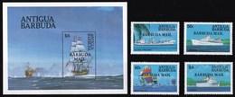 BARBUDA 1984 BATTELLI - Antigua E Barbuda (1981-...)