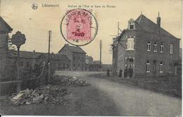 LIBRAMONT ..-- GARE Et GARE VICINAL . 1920 Vers REIMS . Voir  Verso . - Libramont-Chevigny