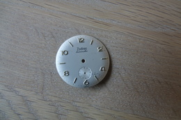 Watches PARTS : DIAL ZODIAC HERMETIC * - Color : Silver - Original Vintage - Genuine Parts - Swiss Made - Jewels & Clocks