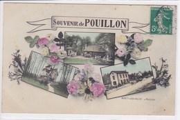 40 POUILLON Multivue ,gare , Souvenir De - France