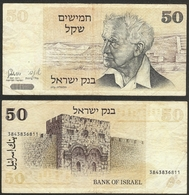 ISRAEL - 50 Sheqalim JE5738 1978 (1980)AD P# 46a Asia Banknote - Edelweiss Coins - Israel