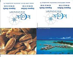 C 4 - 4 PETITS CALENDRIERS - THÈME CERCLE DE LA MARINE - CERCLE NAVAL - BREST - ANNÉES 2006 (3)-2007 - Calendriers