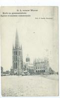 Sint Katelijne Waver O.L. Vrouw Waver Kerk En Gemeentehuis - Sint-Katelijne-Waver