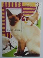 Ghana 2007** Mi.Bl.483. Cats, MNH [12;97] - Katten