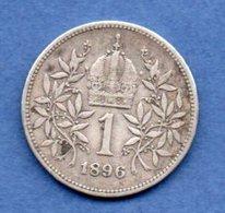 Autriche  - 1 Corona  1896   -  Km # 2804  -  état  TB+ - Autriche