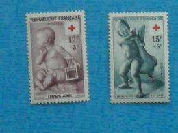 FRANCE- Série Croix Rouge Neuve Xx N° 1048/9 - Ongebruikt