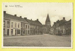 * Torhout - Thourout * (Nels, Drukkerij Firma Becelaere) Burgplaats, Place Du Bourg, R. Hemeryck, Char, Kerk, église - Torhout