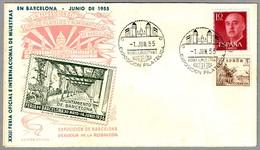 FERIA INTERNACIONAL DE MUESTRAS De BARCELONA. Barcelona 1955 - Exposiciónes Universales