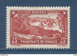Monaco - YT N° 123 - Neuf Avec Charnière - 1933 à 1937 - Monaco