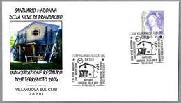 TERREMOTO DE 2004 - Restauracion Santuario Madonna - 2004 Earthquake. Villanuova Sul Clisi 2011 - Geología