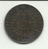 5 Réis 1880 D. Luis I Açores/Portugal - Azores