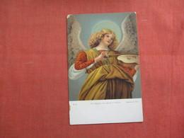 Un Angelo Che Suona Il Violino     -ref 3103 - Christianity