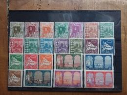 EX COLONIE FRANCESI 1926 - ALGERIA - Dipartimento Francese Nn. 34/56 Nuovi * + Spese Postali - Nuovi