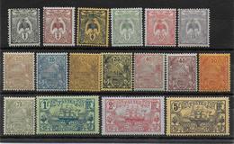 CALEDONIE - YVERT N°88/104 * / MH - COTE = 33 EUR. - CHARNIERE CORRECTE - Unused Stamps
