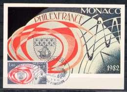X0281)Monaco Maxi-Card  1532 Philatelie - Maximumkarten (MC)