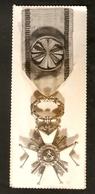 K Old 2 Photos Badge Medal Order Of The Three Stars Grand Cross PER ASPERA AS ASTRA Republic Of Latvia 18 November 1918 - Photographs