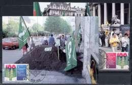 X0783)Belgien Maxi-Card  2290/91 Gewerkschaft - Maximumkarten (MC)