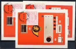 X0924)Belgien Maxi-Card  ATM 3 I, 3 Karten - Maximumkarten (MC)