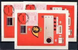 X0925)Belgien Maxi-Card  ATM 3 II, 3 Karten - Maximumkarten (MC)