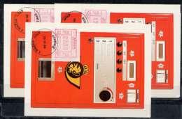 X0926)Belgien Maxi-Card  ATM 3 III, 3 Karten - Maximumkarten (MC)