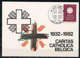 X0934)Belgien Maxi-Card  2130 Caritas - Maximumkarten (MC)