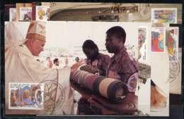 X0963)Vatikan Maxi-Card  926/33 Papstreise - Maximumkarten (MC)