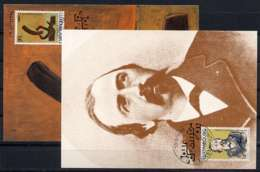 X1111)Luxemburg Maxi-Card  1275/6 - Maximum Cards