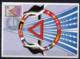 X1150)Luxemburg Maxi-Card  1162 - Maximum Cards