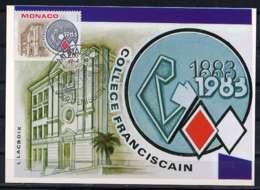 X1569)Monaco Maxi-Card  1581 Franziskaner - Maximumkarten (MC)