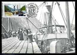 X2353)Transkei Maxi-Karte 181 Schiffe - Transkei