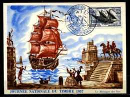 X2722)Frankreich Maxi-Karte 1122 Segelschiff - Ohne Zuordnung