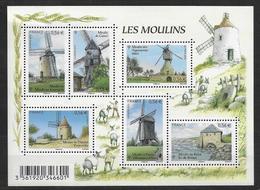 France 2010 Bloc Feuillet N° F4485 Neuf Moulins à La Faciale - Sheetlets