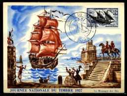 X2723)Frankreich Maxi-Karte 1122 Segelschiff - Ohne Zuordnung