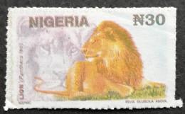 Nigeria  1992-93 Definitive USED  POSTAL COUNTERFEIT - Nigeria (1961-...)