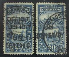 Perú Tasas 42b-42d O - Perú