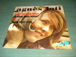 Agnés LOTI : C'est Toi Mon Idole + 3 - Disc AZ EP 954 - Vinyl Records
