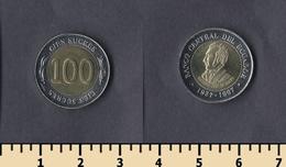 Ecuador 100 Sucres 1997 - Ecuador