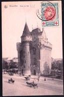 OBP 132 - Sur Carte Bruxelles - Mooie Centrage - Variatie ? - 1915-1920 Albert I