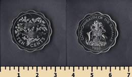 Bahamas 10 Cents 1992 - Bahamas