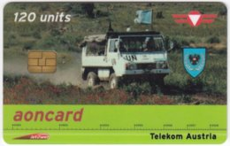AUSTRIA F-998 Prepaid Telekom - Military, United Nations - Used - Oesterreich